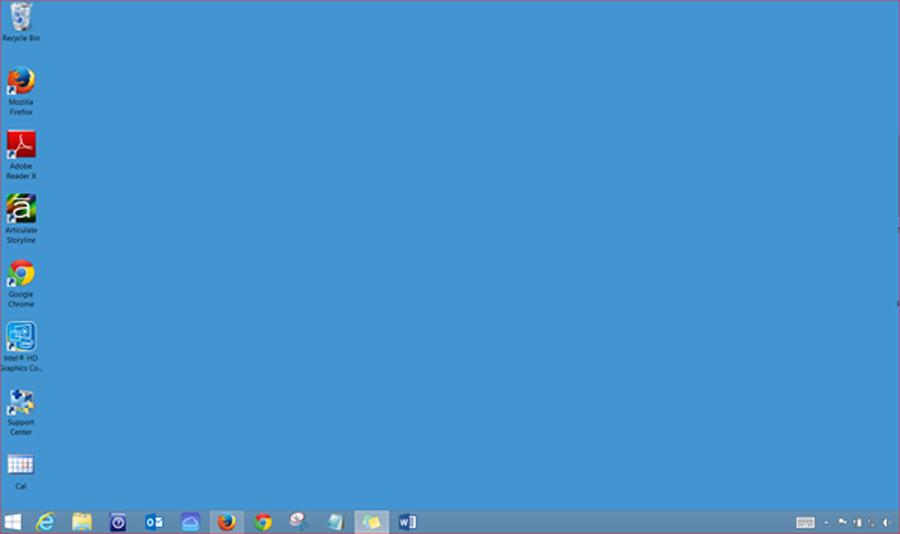 What is this windows basics desktop view windows 8 1 for 2 window in 1 pc